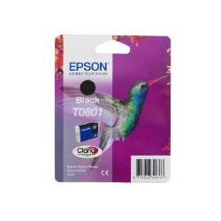 Epson - Hummingbird Cartucho T0801 negro (etiqueta RF)
