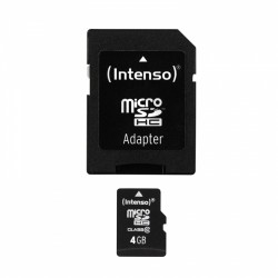 Intenso - 4GB MicroSDHC memoria flash Clase 10