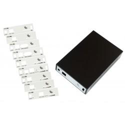 Mikrotik - CA411-711 Funda Negro caja para equipo