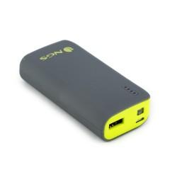 NGS - PowerPump 4000 Lemon Ión de litio 4000mAh Gris, Amarillo batería externa
