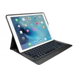 Logitech - CREATE Smart Connector QWERTY Español Negro teclado para móvil - 21783438