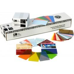 Zebra - Premier PVC 15 mil (500) tarjeta de visita 500 pieza(s)