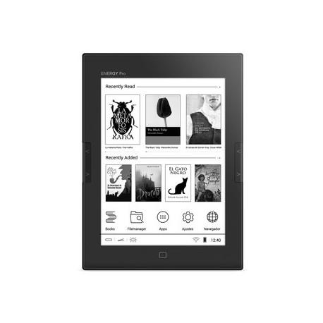 Energy Sistem - eReader Pro HD Pantalla táctil 8GB Wifi Gris lectore de e-book