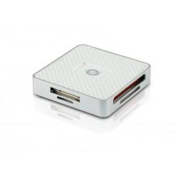 Conceptronic - CMULTIRWU3 USB 3.0 Plata, Color blanco lector de tarjeta