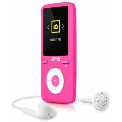 SPC - Pure Sound Colour 2 Reproductor MP3/MP4 Rosado 8488P