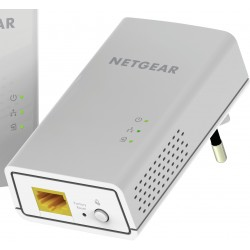 Netgear - PL1000-100PES adaptador de red powerline 1000 Mbit/s Ethernet Blanco 2 pieza(s)