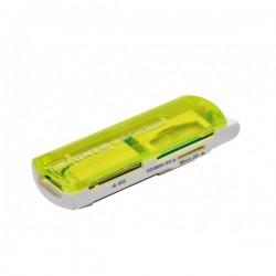 Kloner - KLT98 USB 2.0 Verde lector de tarjeta