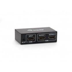 Equip - 332712 divisor de video HDMI 2x HDMI