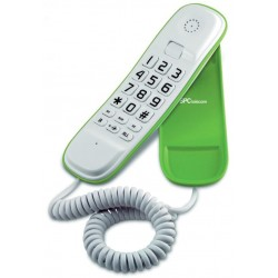 SPC - Original Lite Teléfono Blanco/Verde 3601V
