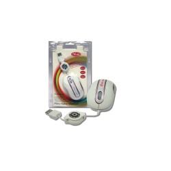 3free - 3F-MSM201/WP ratón USB tipo A Óptico 800 DPI