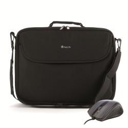"NGS - Bureau Kit maletines para portátil 40,6 cm (16"") Bandolera Negro"