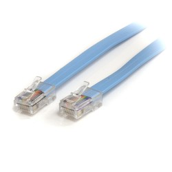 StarTech.com - Cable de 1,8m Rollover de Consola Cisco - RJ45 Macho a Macho
