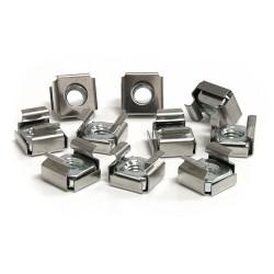 StarTech.com - Paquete de 50 Tuercas Enjauladas Cage Nuts M6