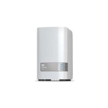 Western Digital - My Cloud Mirror 8TB Ethernet Color blanco dispositivo de almacenamiento personal en la nube