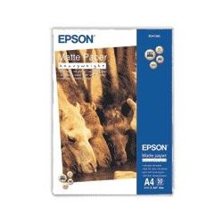 Epson - Matte Paper Heavy Weight - A4 - 50 hojas