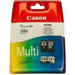 Canon - PG-540XL/CL541XL Original Negro, Cian, Amarillo, Magenta 2 pieza(s)