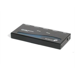 StarTech.com - Multiplicador Divisor de Vídeo VGA de 4 puertos 350MHz -Splitter 4 Salidas - Duplicador
