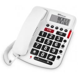 SPC - Comfort Volume Teléfono Blanco 3293B