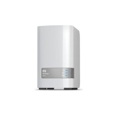 Western Digital - My Cloud Mirror 4TB Ethernet Color blanco dispositivo de almacenamiento personal en la nube