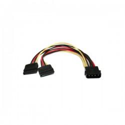 3GO - CPSATAY cable de SATA Negro, Rojo, Amarillo