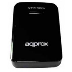 Approx - APPPB7800BK 7800mAh Negro batería externa