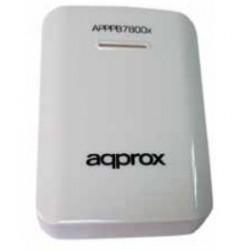 Approx - APPPB7800W 7800mAh Blanco batería externa