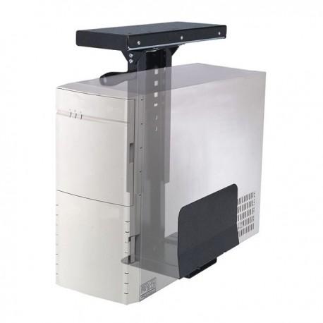 Newstar - CPU-D250BLACK Desk-mounted CPU holder Negro soporte de CPU