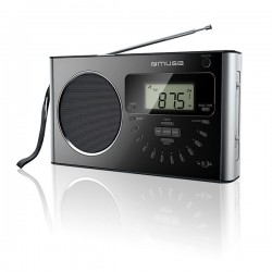 Muse - M-089 R Portátil Analógica Negro radio