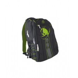 KeepOut - BK7G mochila Negro, Verde Nylon