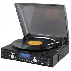 Sunstech - PXR2 Belt-drive audio turntable Negro