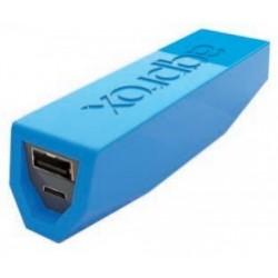 Approx - APPPB26EVLB batería externa Azul 2600 mAh