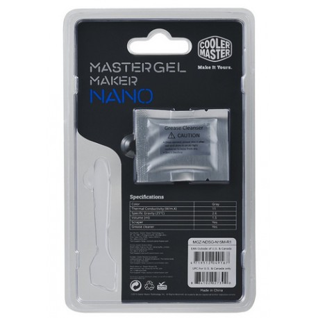 Cooler Master - MGZ-NDSG-N15M-R1 11W/m·K 4g compuesto disipador de calor