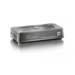 LevelOne - Switch Fast Ethernet de 5 puertos
