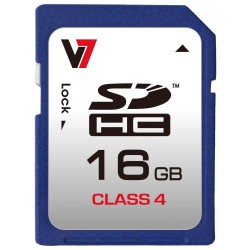 V7 - SDHC 16 GB Clase 4