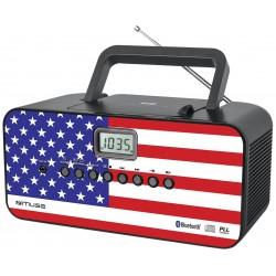 Muse - M-22 US Portable CD player Multicolor reproductor de CD