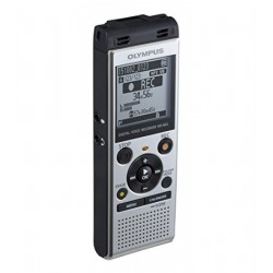 Olympus - WS-852 Memoria interna y tarjeta de memoria Plata dictáfono