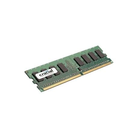 Crucial - 2GB DDR2 2GB DDR2 800MHz módulo de memoria