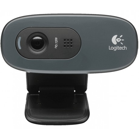 Logitech - C270 3MP 1280 x 720Pixeles USB 2.0 Negro cámara web