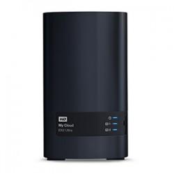Western Digital - My Cloud EX2 Ultra Armada 385 Ethernet Escritorio Negro NAS - WDBVBZ0120JCH-EESN