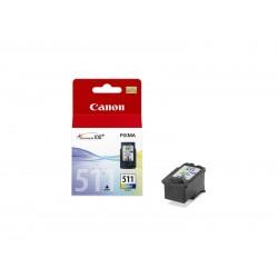 Canon - CL-511 cartucho de tinta Original Cian, Magenta, Amarillo 1 pieza(s)