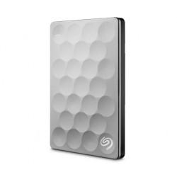 Seagate - Backup Plus Ultra Slim 1TB 1000GB Platino disco duro externo