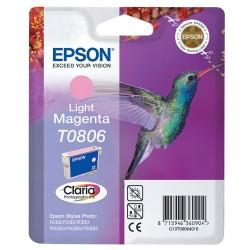 Epson - Hummingbird Cartucho T0806 magenta claro