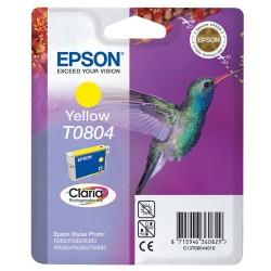 Epson - Hummingbird Cartucho T0804 amarillo (etiqueta RF)