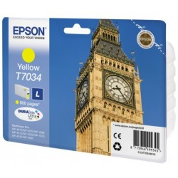 Epson - Big Ben Cartucho T70344010 amarillo L