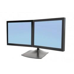 Ergotron - DS Series DS100 Dual Monitor Desk Stand, Horizontal