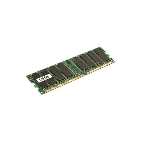 Crucial - 1GB DDR UDIMM 1GB DDR 400MHz módulo de memoria