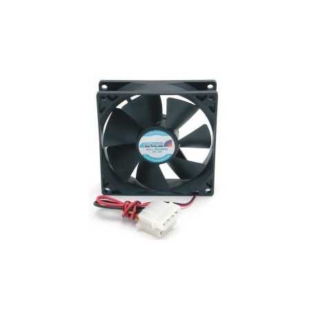 StarTech.com - Ventilador Fan para Caja de Ordenador PC Torre - 92x25mm - Conector LP4
