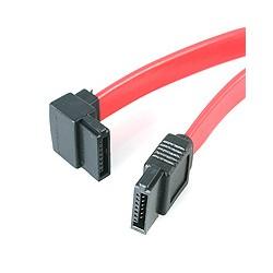 StarTech.com - Cable de 45cm de Datos SATA en Ángulo Recto a la Izquierda Acodado 7 Pines - 2x Serial ATA Macho