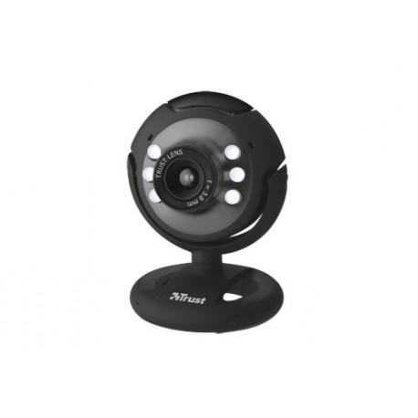 Trust - Spotlight Webcam 640 x 480Pixeles USB 2.0 Negro cámara web