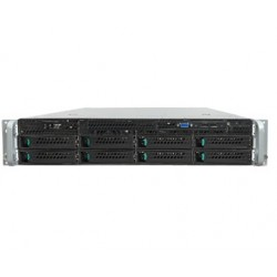 Intel - R2308WTTYSR Intel C612 LGA 2011-v3 2U Negro, Metálico servidor barebone